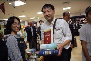 Lần đầu tiên sách Việt Nam có gian hàng riêng tại Nhật Bản