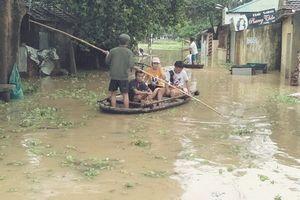 Thanh Hóa: Hàng nghìn hộ dân chạy lụt trong đêm