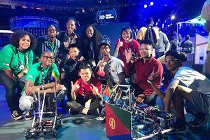 Học sinh Việt Nam xếp hạng 12/161 tại cuộc thi robot thế giới 'First Global Challenge 2018'