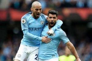 Man City 'hủy diệt' Huddersfield 6-1