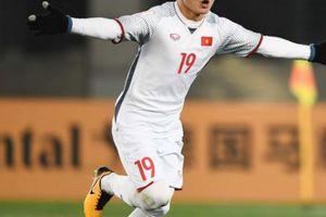 Clip: Pha làm bàn của Quang Hải vào lưới Olympic Nhật Bản