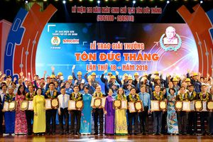 Giải thưởng Tôn Đức Thắng năm 2018: Phẩm chất sáng tạo của kỹ sư, công nhân TPHCM tỏa sáng