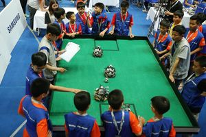Samsung Vina đồng hành cùng Robot Robotacon