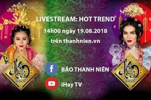 Nam Thư - BB Trần livestream kể chuyện hậu trường 'Nam Phi liên hoàn kế'