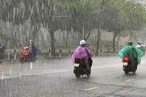Ngày 19/8: Nhiều khu vực tại Bắc Bộ tiếp tục mưa to