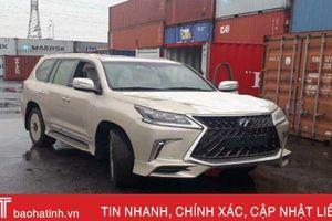 Lexus LX570 bản 4 chỗ giá gần 11 tỷ đầu tiên về Việt Nam