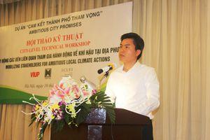 Hà Nội chủ động hợp tác ứng phó với biến đổi khí hậu