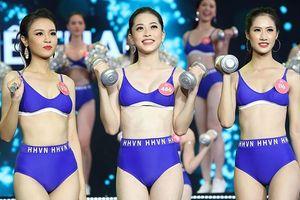 Phát sốt với hình thể của top 3 Người đẹp Thể thao HHVN 2018