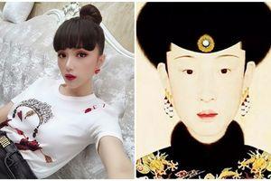 Đến hoa hậu Hương Giang cũng 'họa mặt' ma mị chạy theo trend Diên Hi công lược