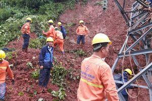 EVNNPC khắc phục cơ bản sự cố lưới điện sau hoàn lưu bão số 4
