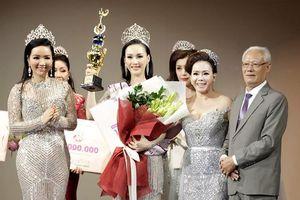 Hoa hậu Paris Vu tỏa sáng vương miện Doanh nhân Toàn năng châu Á