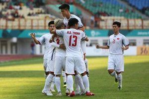 Olympic Việt Nam độc chiếm ngôi đầu bảng sau khi thắng Nhật Bản