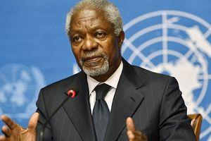 Cựu Tổng thư ký LHQ Kofi Annan đấu tranh cả đời vì hòa bình, công bằng