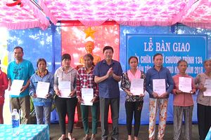 Đồng Nai: Sửa chữa, bàn giao 20 căn nhà cho đồng bào dân tộc ít người
