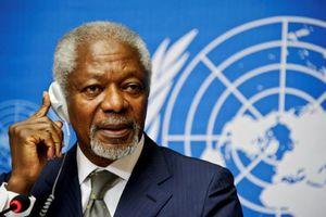 Kofi Annan: Người tranh đấu suốt đời cho thế giới công bằng và hòa bình hơn