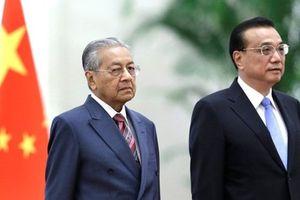 Malaysia mong Trung Quốc 'thông cảm' khi hủy các dự án 20 tỷ USD