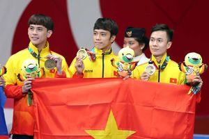Việt Nam đoạt 2 huy chương trong ngày đầu tiên