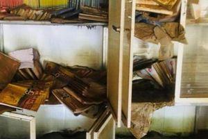 Nghệ An: Giáo án, sách vở ướt nhòe, cả nghìn học sinh có thể lỡ khai giảng