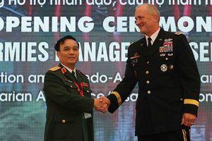 Tư lệnh Lục quân Mỹ: Sẵn sàng hỗ trợ, giúp đỡ các nước trong khu vực