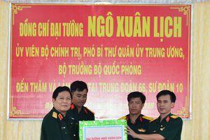Đại tướng Ngô Xuân Lịch thăm và làm việc tại Quân đoàn 3