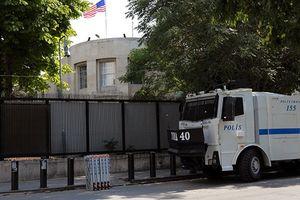 Súng nổ tại đại sứ quán Mỹ ở Thổ Nhĩ Kỳ