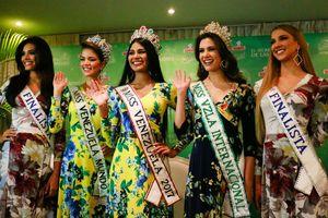 'Miss Venezuela' bất ngờ bị hoãn vô thời hạn