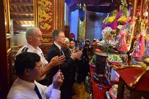 Tư lệnh Lục quân Mỹ cam kết hợp tác cùng Việt Nam về tìm kiếm cứu nạn thiên tai