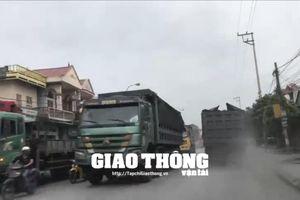 Xe quá tải thả sức 'đại náo' trên các tuyến đường đất mỏ Quảng Ninh