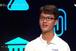'Hot boy' Phan Đình Phùng xuất sắc giành vé vào cuộc thi quý cuối cùng Olympia 2018