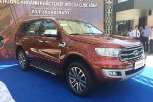 Ford Everest 2018 sắp ra mắt, giá dự kiến 850 triệu đồng