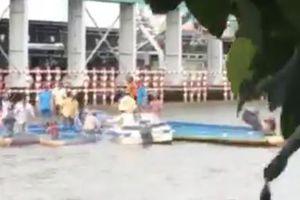 Đò chở 10 kỹ sư gặp tai nạn, 1 người tử vong