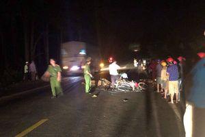 2 xe máy tông nhau, 3 người thương vong