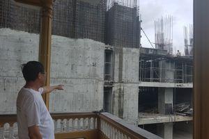 Dự án xây dựng gây lún nứt nhà dân