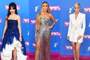 Dàn sao lộng lẫy trên thảm đỏ MTV Video Music Awards 2018