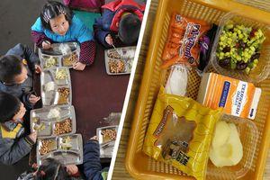Sự khác biệt trong bữa trưa của trẻ em trên thế giới