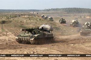 Nga huy động hàng trăm xe tăng tham gia tập trận Vostok-2018