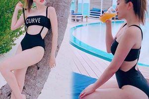 Bảo Thy mang 7 bộ bikini tới Maldives để khoe dáng sexy