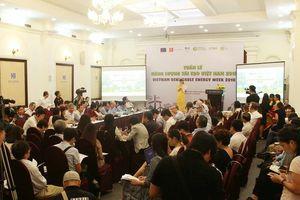 Khởi động Tuần lễ Năng lượng tái tạo Việt Nam 2018