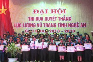 Đại hội thi đua quyết thắng Lực lượng vũ trang tỉnh Nghệ An giai đoạn 2013-2018