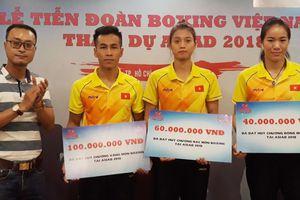 Treo thưởng lớn cho võ sĩ boxing giành huy chương ASIAD 2018