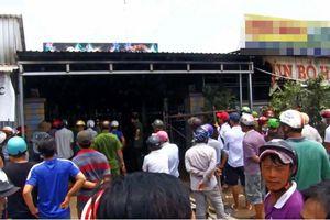 Cháy tiệm karaoke Tuyết Hương, 1 người chết, 1 người bị thương