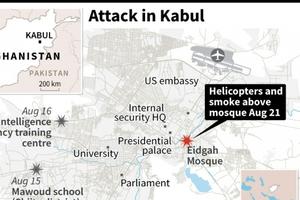 Afghanistan: Taliban Tấn công rocket nhằm vào Phủ Tổng thống