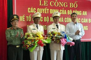 Sau sáp nhập, công an Đà Nẵng có 8 phó giám đốc