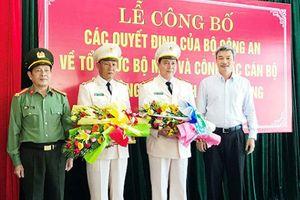 Công an Đà Nẵng có 2 Phó giám đốc mới