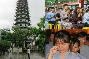 Người trẻ Hà thành bật khóc khi đến chùa tham dự khóa tu VU LAN BÁO HIẾU