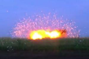 Chiến sự Ukraine: Dân quân Donesk thử đạn mới pháo phản lực nhiệt áp