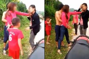 Vợ dẫn con nhỏ cùng bố mẹ đẻ đi dằn mặt 'bồ nhí' của chồng: 'Hai đứa con vào hộ mẹ, đánh luôn'