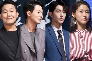 Showcase 'Pháo đài Ansi': Seolhyun kém sắc khi đứng cạnh 'mỹ nam' Jo In Sung và Nam Joo Hyuk