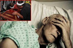 Có phải bệnh nhân ung thư phổi bị đau nặng hơn khi đi viếng đám ma?