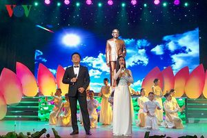 Chương trình nghệ thuật 'Dâng Người một bài ca' kỷ niệm 130 năm ngày sinh Chủ tịch Tôn Đức Thắng